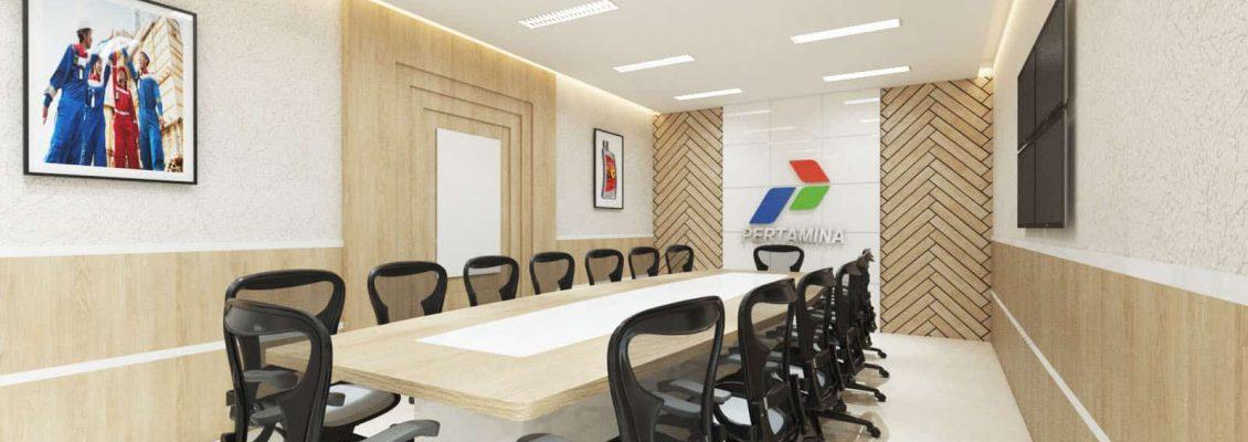 Desain Interior Kantor Pertamina Inmar 2018 Vector 41 Medan (2)