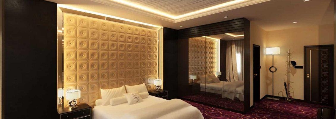 Desain interior apartemen wahid private residence bpk julius medan