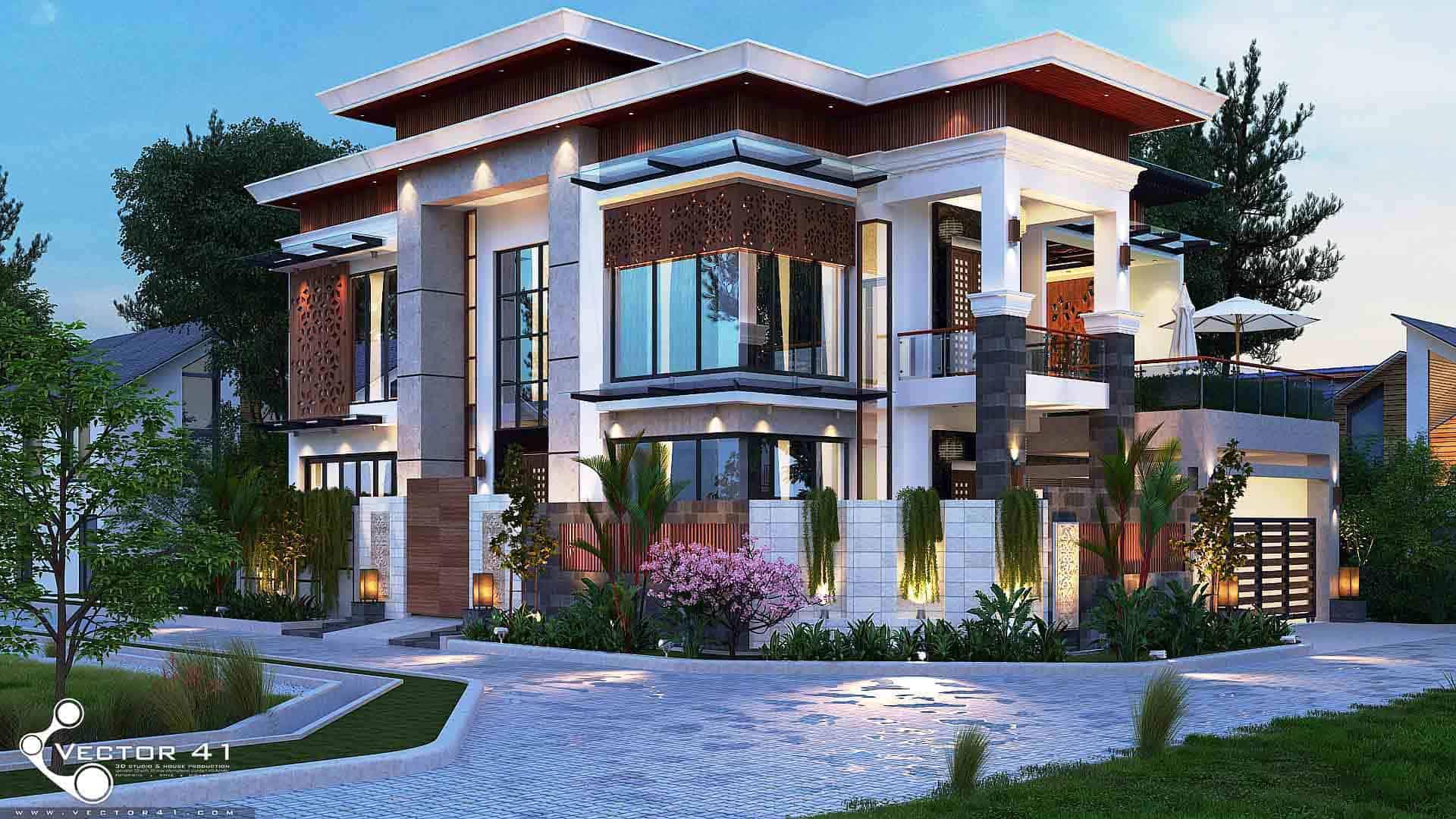 Desain Villa Model Villa Terbaru