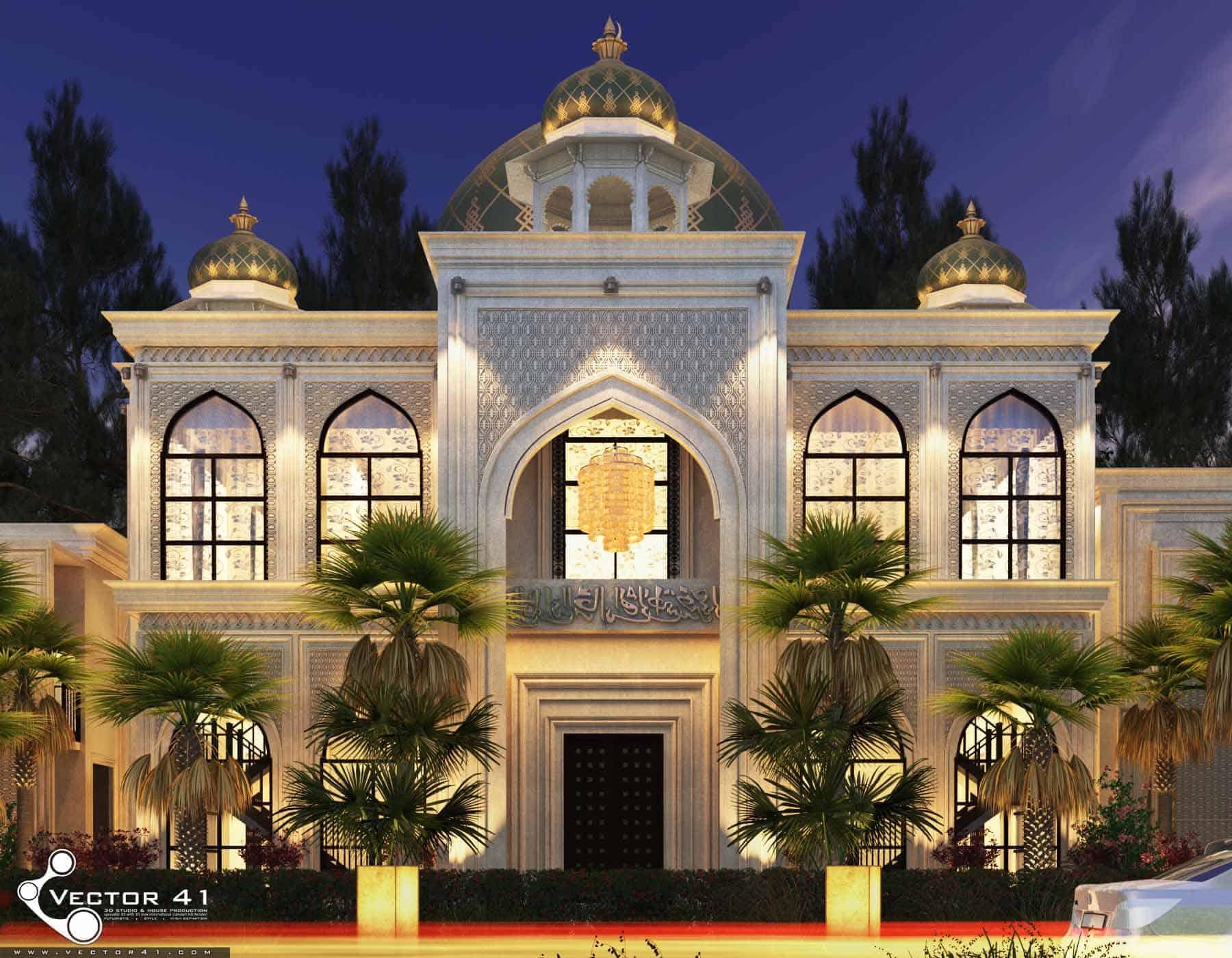 Desain Masjid Model Masjid Terbaru Vector 41 Arsitek