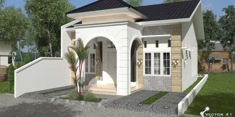 Aplikasi Desain Rumah Minimalis Gratis  desain rumah minimalis vector 41 arsitek medan