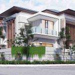 Desain rumah modern minimalis medan
