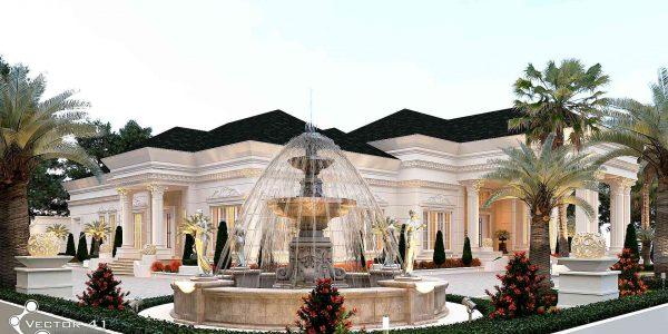 Desain rumah klasik Ibu yuli kisaran