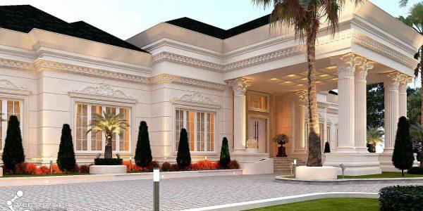 Desain arsitek rumah klasik kisaran medan