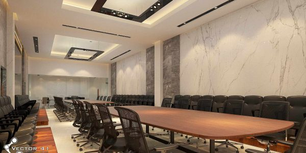 interior ruang meeting pt mark dynamics