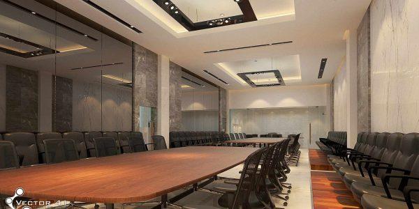 desain ruang meeting pt mark dynamics