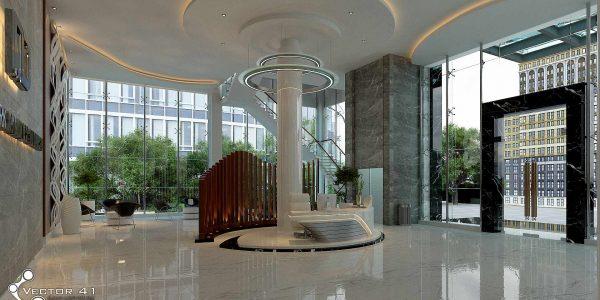 desain lobby pt mark dynamics