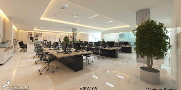 Desain Interior Kantor PT. Mark Dynamics Indonesia - Medan
