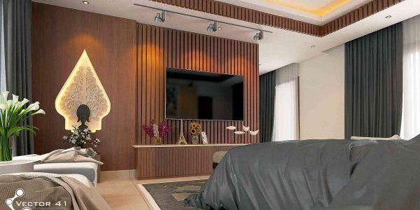 desain interior kamar bapak bambang palembang