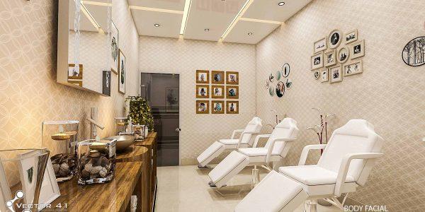 Desain klinik kecantikan spa di medan