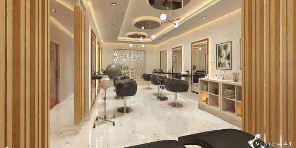 Desain interior tempat kecantikan terbaru di medan