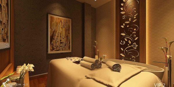 Desain Interior spa massage di banda aceh