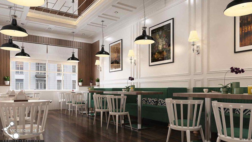 desain interior sofa cafe bapak bran medan