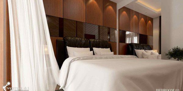 desain interior kamar tidur bapak zulkifli medan