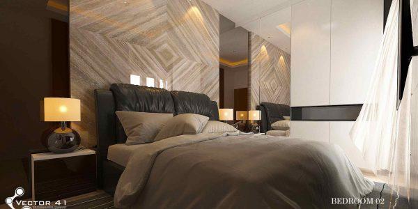 desain interior kamar bapak zulkifli medan